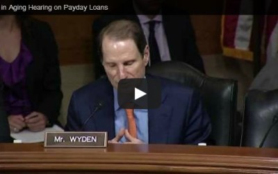 Senator Weyden questions Consumer Protection Agency